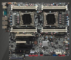 Wysokiej jakości komputer płyta główna płyta główna dla P700 X99 00FC855 P710 podwójny stacji roboczej płyty głównej będzie test przed wysyłką w Płyty główne od Komputer i biuro na