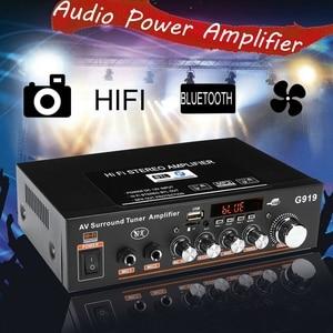 Image 4 - 12 فولت/220 فولت/110 فولت 360 واط بلوتوث ستيريو مكبر صوت صغير مكبر كهربائي FM SD HIFI 2CH أمبير الصوت مشغل موسيقى للسيارة المنزل