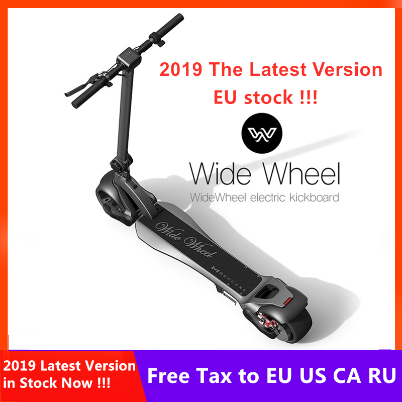 EU Stock 2019 Newest 48V 1000W Mercane WideWheel Electric Scooter 45 KM/H Foldable Wide Wheel Kickscooter Dual Motor Skateboard