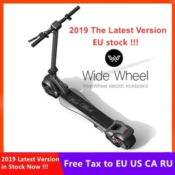 Stock europeo 2019 más nuevo 48V 1000W Mercane WideWheel Scooter Eléctrico 45 KM/H plegable rueda ancha Kickscooter doble patineta del Motor