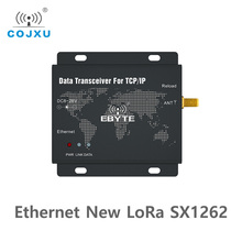 SX1262 22dbm LoRa Ethernet Wireless Digital Radio E90 DTU(900SL22 ETH) Transceiver Long Distance Transparent Transmission