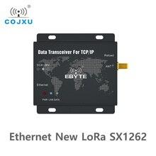 SX1262 22dbm LoRa Ethernet kablosuz dijital radyo E90 DTU(900SL22 ETH) alıcı verici uzun mesafe şeffaf iletim