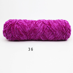 1 шт. = 100 г, шенилловая бархатная толстая пряжа, мягкая пряжа для вязания крючком, распродажа, пряжа для вязания крючком, шерстяная детская ручная вязка, DIY нить C2MX06