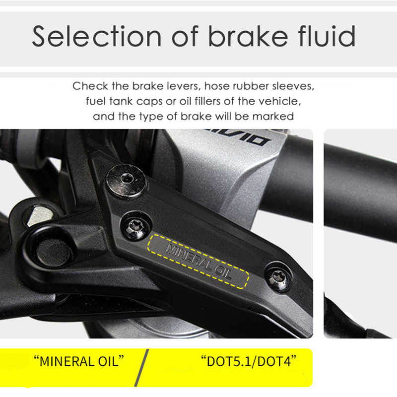 Universal Bicycle Disc Brake Oil Change Bleed Kit Filling Tool for MTB Bike