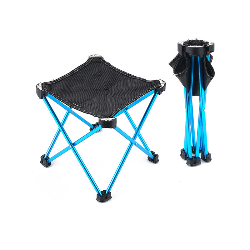 Foldable Lightweight Stool Traveling Fishing Camping Folding Stool Backpacking Outdoor Portable chair with Carry Bag U3