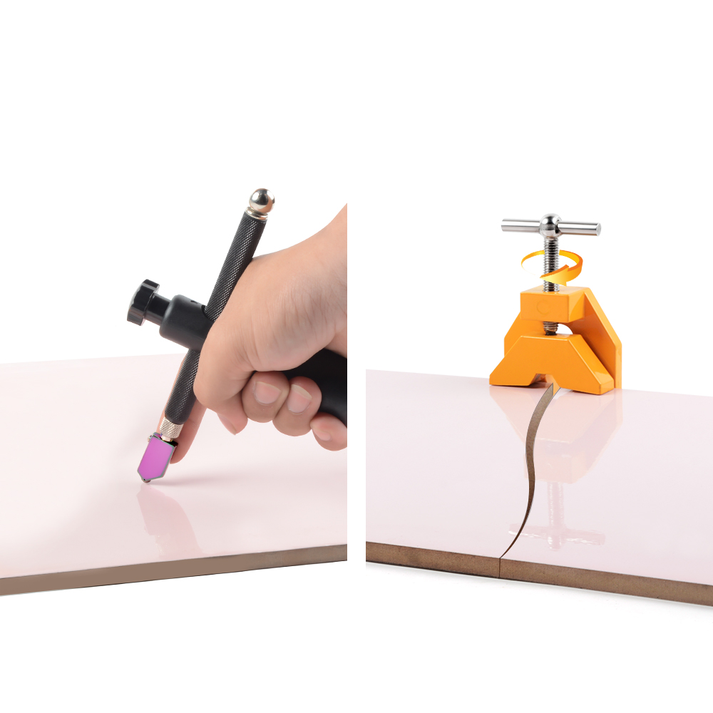 Glass Cutter Ceramic Tile Cutter Cutting Thickness 19mm Replacement Cutter Manual Glass Cutting Tools Tile Tools DIY Craft