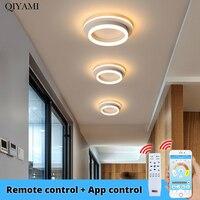 Square Chandelier Round Chandelier Modern LED Lamps For Bedroom Living Room Study Room Footpath Lights 20w