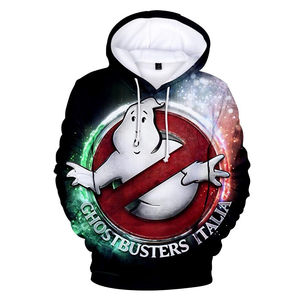Cute 3D Ghostbusters Hoodies Men/Women Sweatshirts Popular Streetwear Harajuku Style Children Hoodie Ghost Busters Clothing
