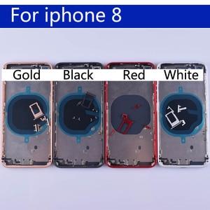 """Image 3 - 4.7 """"กลับสำหรับ 8 8G ด้านหลังแบตเตอรี่กรณีกลางแชสซีสำหรับ iphone8 กลับที่ใช้สายเคเบิลข้อมูลที่อยู่อาศัย"""