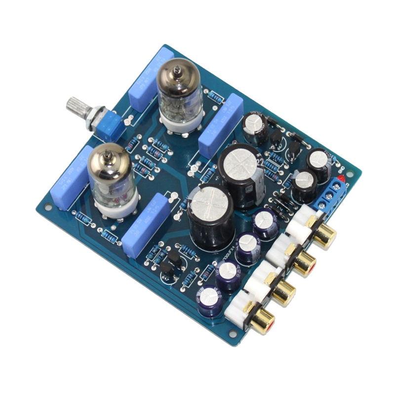 ABHU-6J1 Tube Pre-Amplifier Preamp Board Hifi Amp Audio Board Completed Board X10-D Circuit AC12V-0-AC12V