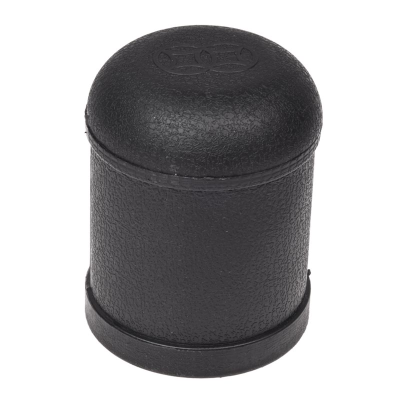 Quality  Pair Bar Play Black Plastic Shaker Cup w 10 Pcs Round Corner Dice