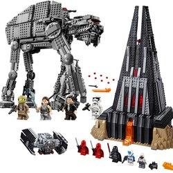 In stock Star Wars Series First Order Heavy Assault Walker Building Block Bricks Compatible Lepining 75189 Starwars Toys