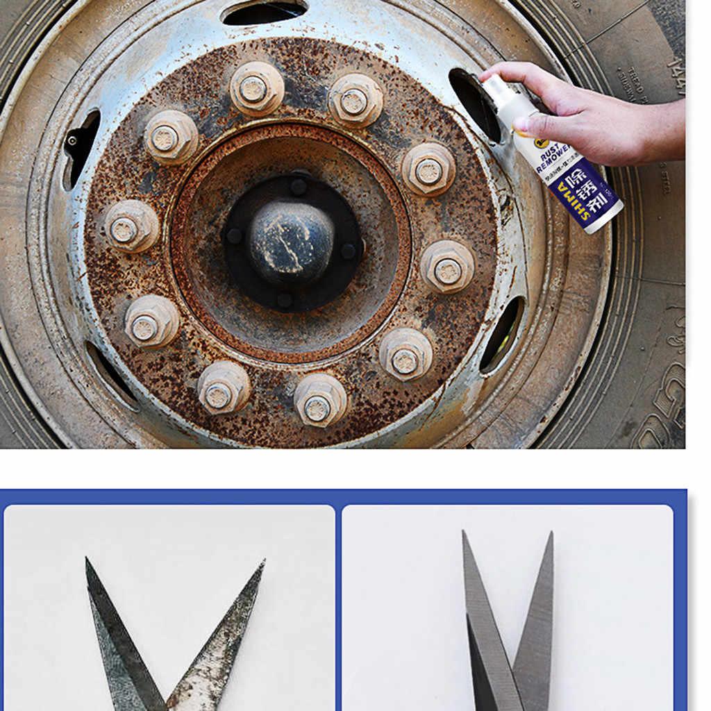 spraying Anti-Rust liquid Metal Surface Chrome Paint Car Maintenance Iron Powder Cleaning Rust Remover 120ml Dropship 2020 7P