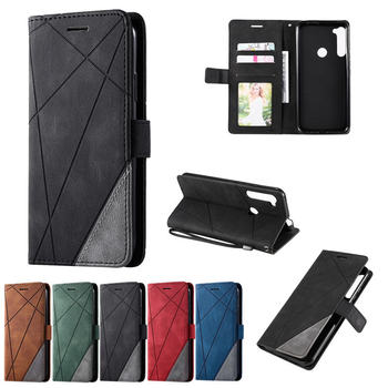 Etui Shockproof Wallet Book Case For Motorola One Fusion Plus Leather Card Business Magnetic Luxury for Moto One Fusion Cover