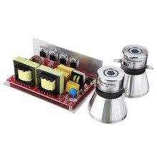 Ультразвуковой драйвер преобразователя 132*85*45 мм 28 k/40 k 100 W/50 W PCB генератор включает ультразвуковые преобразователи для ультразвукового очистителя