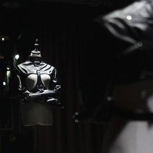 Image 4 - سترة ضائقة بصدر مكشوف من الجلد Bdsm سترة ضائقة للنساء أزياء مستقيمة لضبط النفس للنساء أزياء مثيرة
