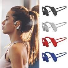 Bluetooth 5,0 Öffnen Ohr Drahtlose Sport Kopfhörer Surround Für Laufende HD Knochen Sound Stereo Kopfhörer leitung PK Hände-fr z8X7