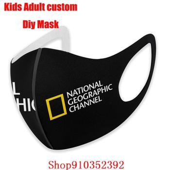NATIONAL GEOGRAPHIC-mascarilla facial protectora para niños, máscara de moda reutilizable, por metro