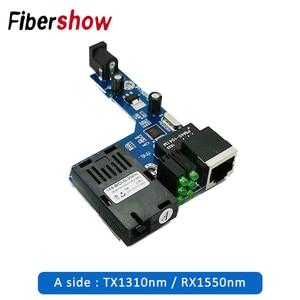 Image 3 - PCBA Fast Ethernet Fiber Media transceiver Converter Switch half board Single Mode Single Fiber SC 10/100M