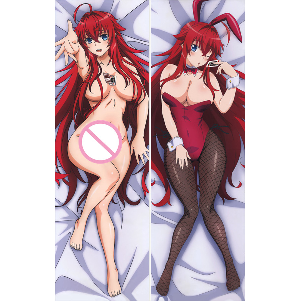 MMF June 2019 High School DxD ( Highschool DxD ) Sexy Akeno Himejima & Rias Gremory Pillow Cover Dakimakura Body Pillowcase