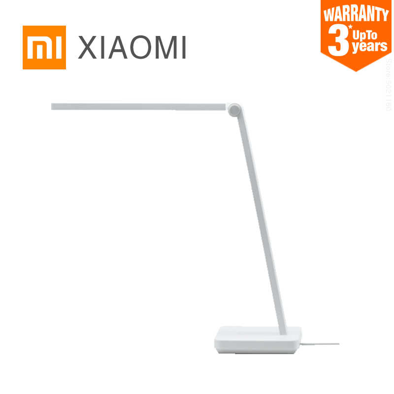 Xiaomi Mijia Lampu Meja Lite LED Membaca Lampu Meja Kantor Mahasiswa Table Light Portabel Lipat Bedside Night Light 3 Kecerahan mode