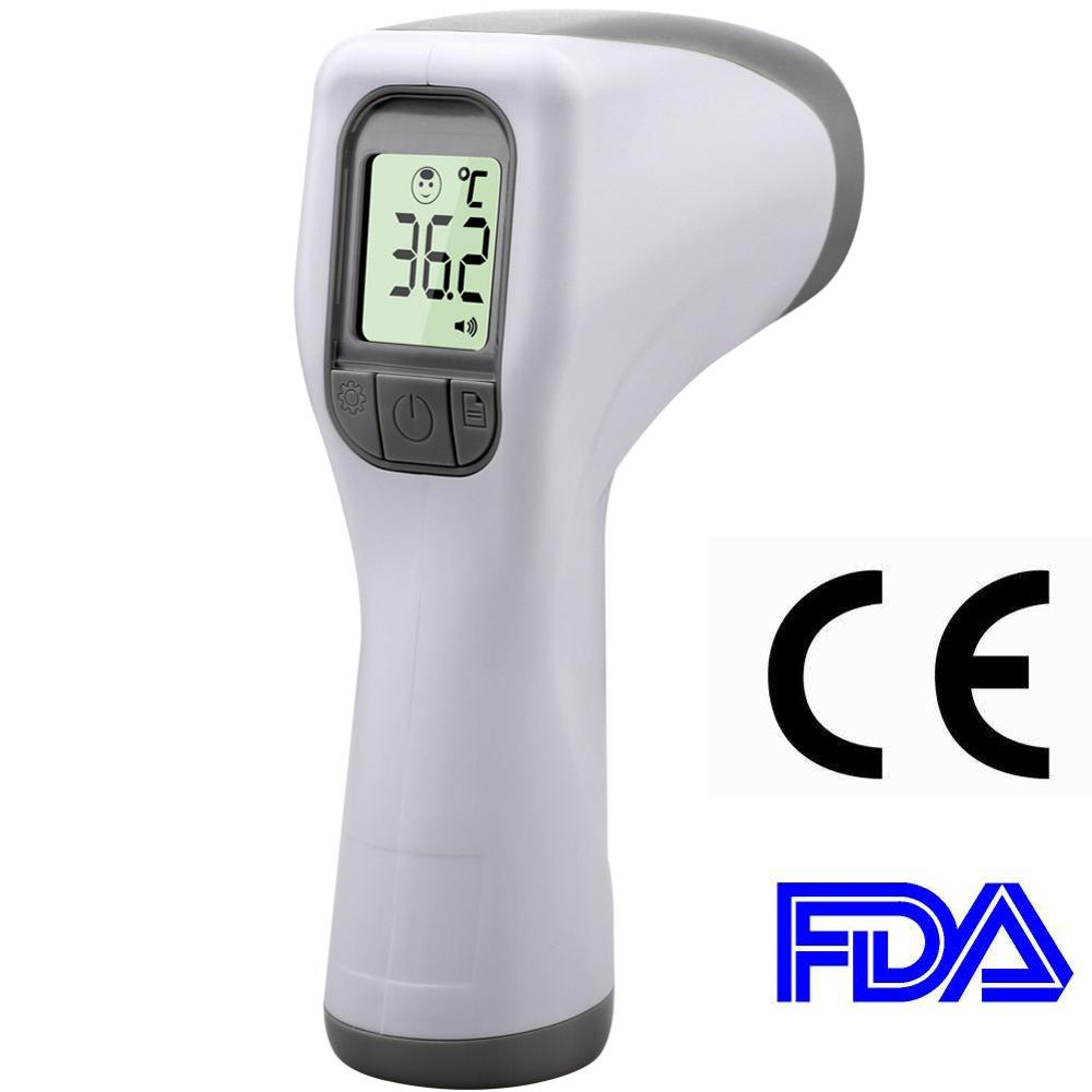 Hot Sale Digital Infrared Baby Forehead Thermometer LCD Non-Contact IR Forehead Temperature Measurement Tool 1pc