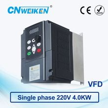 WK600 Vector Control frequency converter 4.0kw Single-phase 220V to Three-phase 220V variable frequency inverter AC drive ce 2 2kw 220v single phase to three phase ac inverter 400hz vfd variable frequency drive