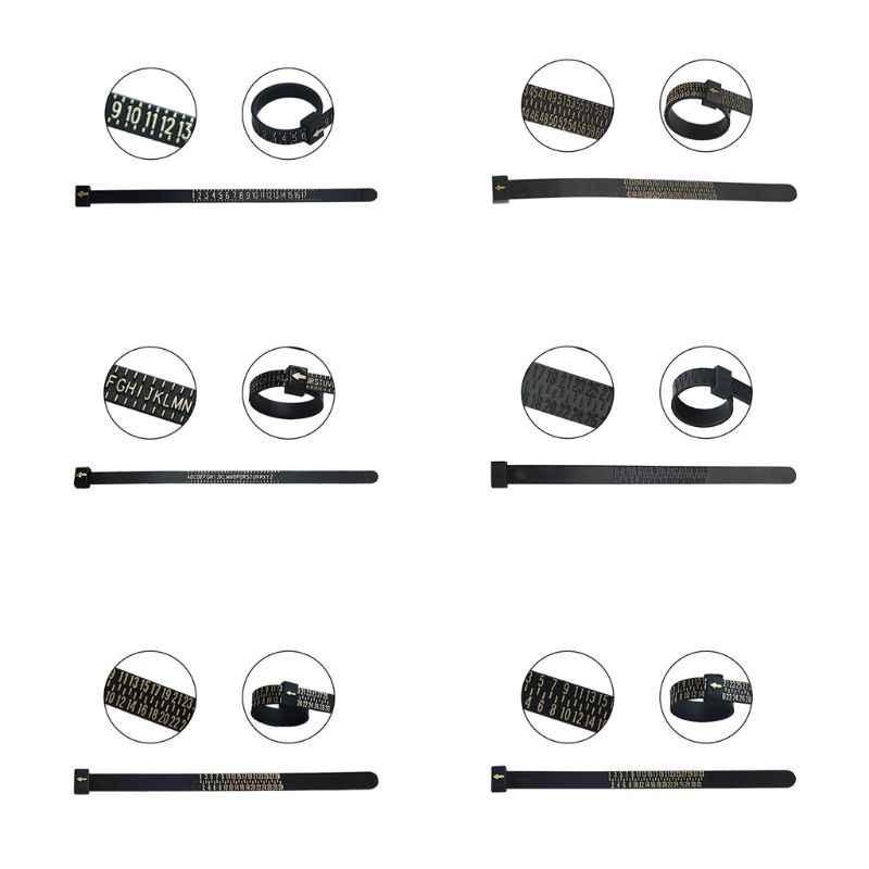 Mess Finger Standard Ring Kreis UNS/Hong Kong/Japan/Europa/UK Band Herrscher Schmuck Zubehör Messen messer Werkzeug