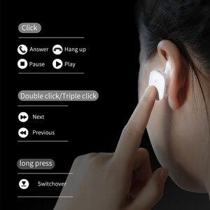 Image 2 - Baseus W02 tws bluetoothイヤホンワイヤレスマイク付きインテリジェントタッチコントロールハンズフリーauriculares電話