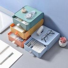Petite boîte de rangement multicouche pour finition de bureau, dortoir, étagère de rangement, Type tiroir, bureau, cuisine, organisateur de bureau