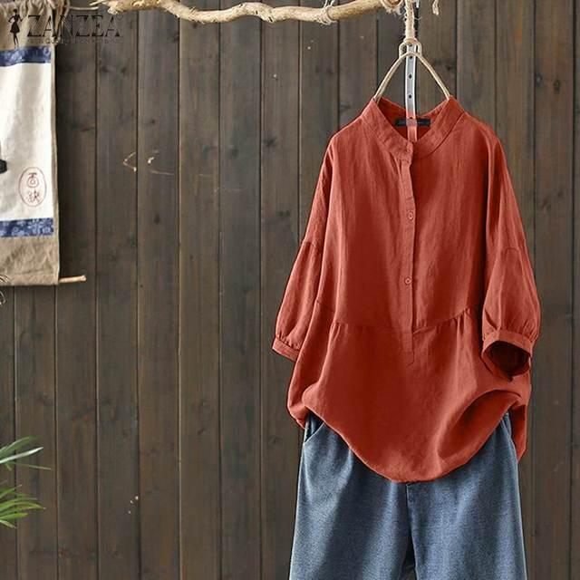 Summer Cotton Blouse  5
