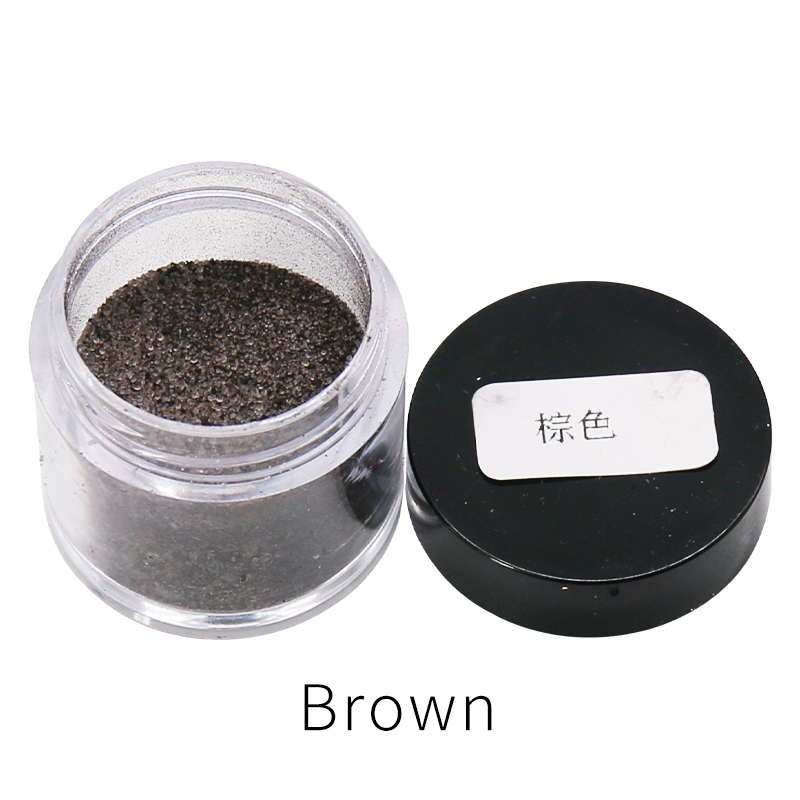 Brown Color Fast-dying Fabric Dye Pigment For Dye Clothes Feather Bamboo Eggs And Clips 10g/bottle Acrylic Paint Powder