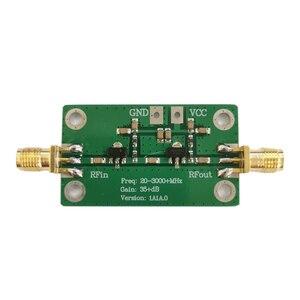 Image 2 - Module damplificateur à large bande LNA RF à faible bruit de Gain de 20 3000MHz 35dB pour le Drone de course de FPV