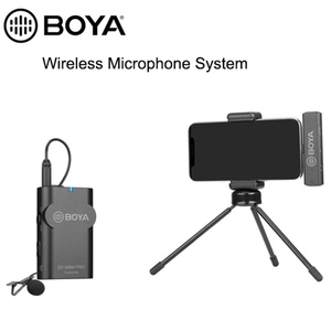 Image 2 - BOYA BY WM4 Mark II BY WM4 PRO K3 K5 2.4GHz Wireless Microphone System Smartphones Video Mic for iOS Android tablets Laptops
