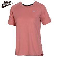 Original Nike Breathe Running Top Sportswear T-Shirt Womens Short sleeve Pattern