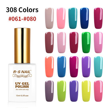 RS NAIL Gel Nail Polish Hybrid Varnishes All For Manicure Nails Art Semi Permanent UV Led Gel Polish Nail Design Base Top Coat цена 2017