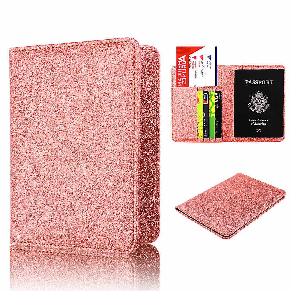 Maison Fabre card holder PU Cover on the passport Bright Surface Antimagnetic Certificate Card Bag Passport Package     G0909#35