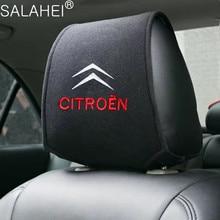 Cubierta de reposacabezas de coche, cojín para asiento de descanso del cuello, para Citroen C2, C3, C4, Quatre, Saxo, Xsara, Jimny, 1,6, 16v, productos para coche