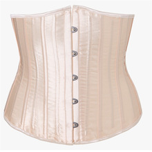 Hot Selling 26 Root All Steel Rib-Palace Satin Girdle Waist Clip-Palace Corset High shapers waist trainer body shaper corset body corset гель скраб all inclusive