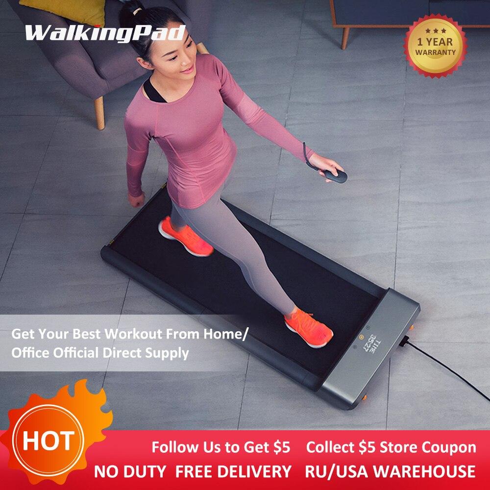 Hot WalkingPad A1 tapis roulant pliable maison économiser de l'espace intelligent électrique jogging marche aérobie Sport Fitness équipement Xiaomi écosystème