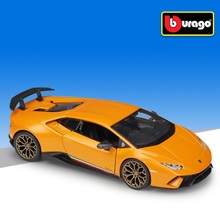 Bburago 1:24 Lamborghini Huracan Performante pres döküm model araba