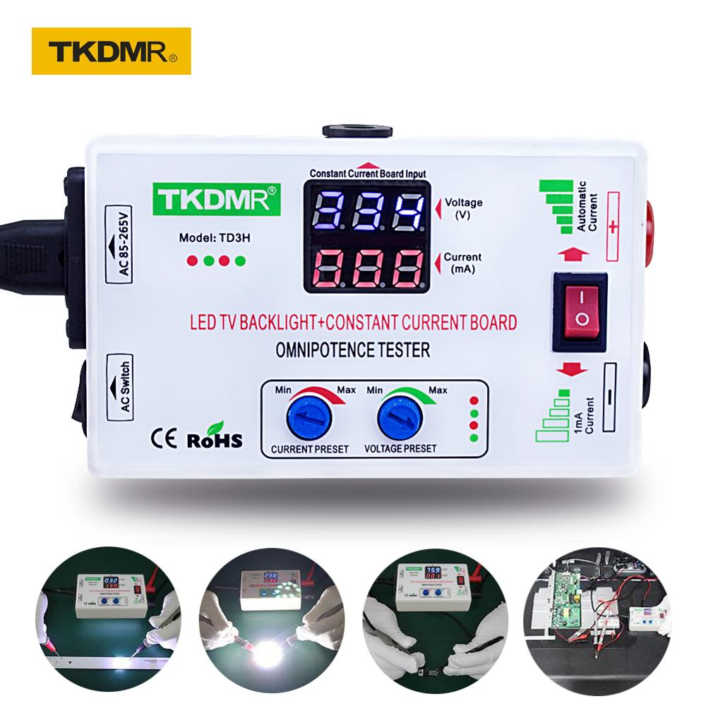 TKDMR 0-330V Smart-Fit Manual Adjustment Voltage TV LED Backlight Tester Current Adjustable Constant Current Board LED Lamp Bead