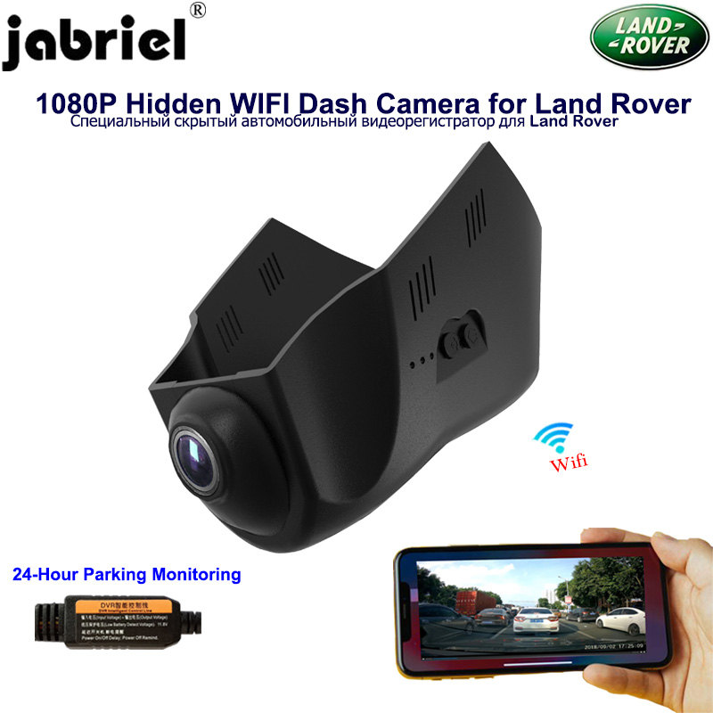 Jabriel Wifi Hidden 1080P Car DVR <font><b>Dash</b></font> <font><b>Cam</b></font> Camera for Land Rover discovery sport 2015 2016 2017 <font><b>2019</b></font> 2 3 4 5 lr4 evoque android image
