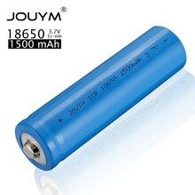 Литий-ионный аккумулятор ICR 18650 Батарея 3,7 V 1500 мА/ч, литий-ионных аккумуляторов Перезаряжаемые Батарея для сильных светильник вспышки светил...