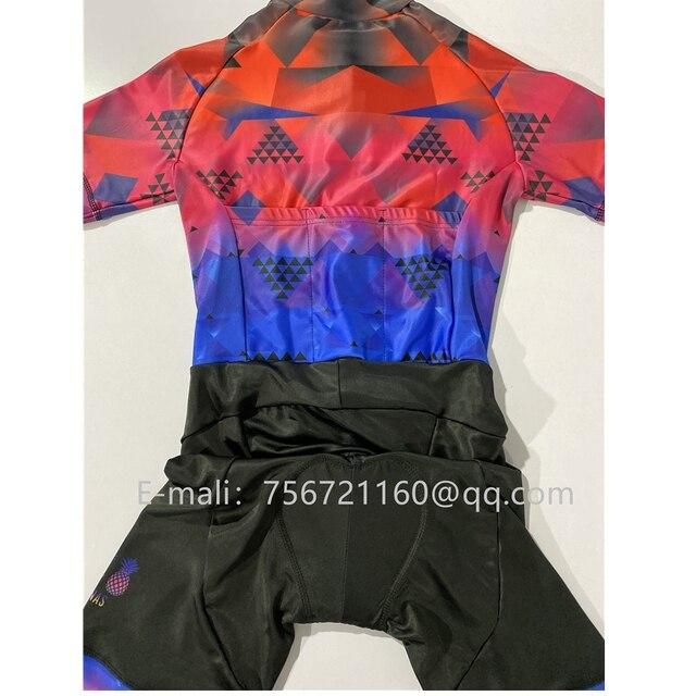 Tres pinas 2020 roupas de verão ciclismo mulher triathlon bicicleta skinsuit ciclismo ternos do corpo collants maillot natação runing 3