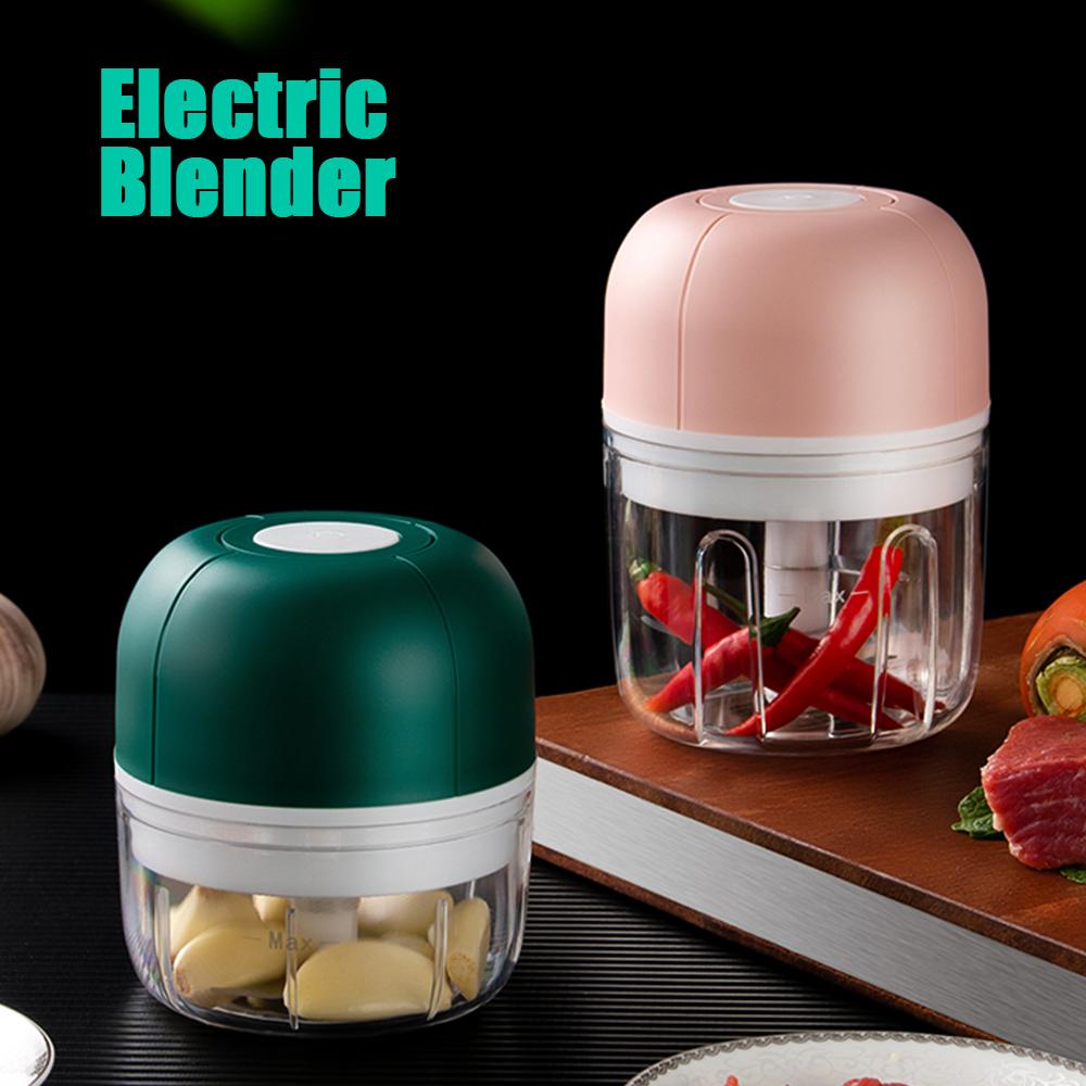 Mixer Electric Chopper Blender Garlic Masher Press Wireless Electric Mincer Vegetable Chili Meat Grinder Food Crusher Chopper