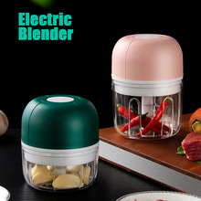Blender Mixer Chopper Food-Crusher Vegetable-Chili Electric Wireless Garlic Mincer Masher-Press