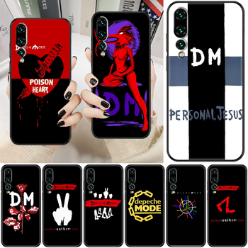 Depeches band Mode Phone case For Huawei P Mate P10 P20 P30 P40 10 20 Smart Z Pro Lite 2019 black silicone cell cover soft funda image