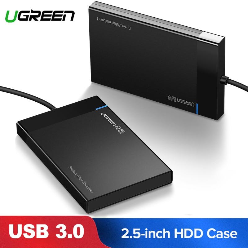 UGREEN HDD Enclosure 2.5/'/' Sata to USB 3.0 External Hard Drive HDD Case Laptop