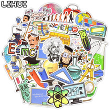 50 Pcs Science Lab Stickers Klasse Terug Naar School Waterdichte Sticker Voor Student Om Diy Briefpapier Koffer Laptop Fiets Auto decal(China)